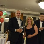 John Chacksfield winner of the Wilson Trophy for 1st overall in the Harewood FTD Championship