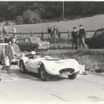 Phil Chapman at Oliver's Mount - guess who's 'carrying the can'! (Sandra Tomlin)